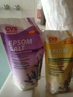 Finally! Scented Epsom salt!