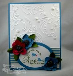 love embossing folders!