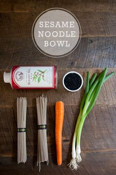 sesame noodle bowl  http://www.ahouseinthehills.com/ahouseinthehills/2012/6/19/sesame-noodle-bowl.html