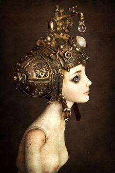 Artificial Intelligence - Enchanted Doll by Marina Bychkova