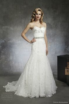 Justin alexander bridal spring 2013 wedding dress