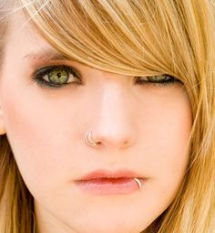 """double nose piercing looks cute on her but I love her lip ring, I want mine to work perfectly like that when I get it!  """"Do These 3 Things....  And Make Money, Every Time!""""  FREE Video Reveals How YOU Can Start Making Money Online TODAY! http://www.earnyouronlineincomefast.com"""