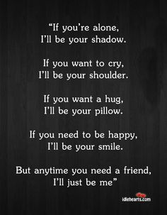 Friendship Quotes, can I have a friend like this?