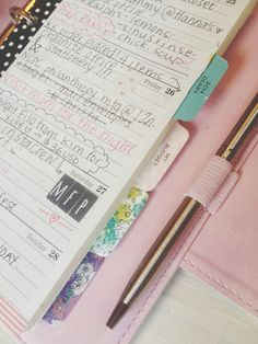 cafe et papier - blog: Review of Typo 2014 Luxe Diary in Polka Dots! #filofax