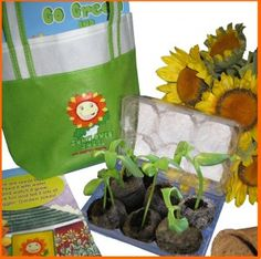 Go Green and Giggle with the Gigglin' Garden Gang - Teaching kids sustainability!