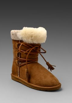 KOOLABURRA Brinley Classic Hiker in Chestnut at Revolve Clothing