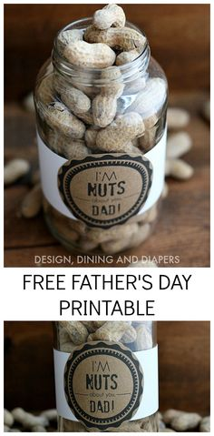 FREE Father's Day Printable - Fun. Cute. Simple.  I can do this!
