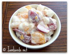 desert, foodi dessert, fruit salads, favorit recip, fruit salad recipes, marshmallow fruit, fruit marshmallow salad, marshmallows, salad marshmallow