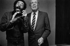 El escritor argentino Jorge Luis Borges.  VASCO SZINETAR