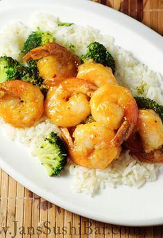 Healthy version of bang bang shrimp! So good! | jans sushi bar