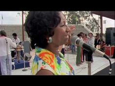 """Celia Cruz Sound Check! - Zaire '74 (Guantanamera) - YouTube whenever I hear Celia Cruz I feel like I must have done something good, to get to hear this glorious , generous, beautiful sound. Something in my heart always says, like my dad used to say, """"My people, my people."""""""