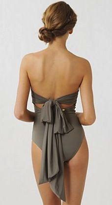 Katie Reynal...that is a sexy swim suit