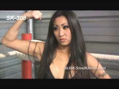 Female Wrestling | Choke Hold | Leg Lock | Belly Punch