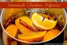 Homemade Christmas Potpourri christma potpourri, homemad christma, homemade christmas