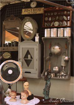 Vintage Enamelware   Second Shout Out    http://www.secondshoutout.com/blog/vintage-kitchenware-sunday-brocantes