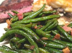 Bacon-Walnut Green Beans Recipe