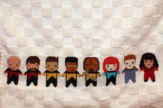 Star Trek:TNG tea towel