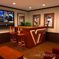 Mike's dream - VT basement bar