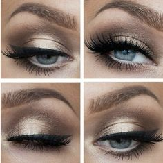 If you have green or blue eyes, this is the eye makeup for you!