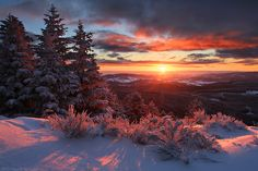 mountain, photograph, sunrises, colors, sunsets, snow, beauty, winter solstice, moving forward