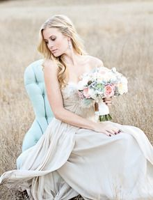 As we wrap up yet another week here at SMP, it seems only fitting to send you off into the weekend with an extra dose of pretty. But we're not talking about just any pretty here. We're talking about a pinch-me-perfect photo shoot forPrim wedding dressses, bridal shoot, style, weddings, bridal portraits, dresses, bridal bouquet, flowers, bride