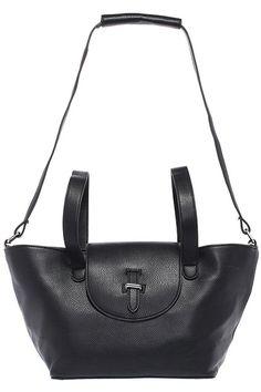 #ROMWE | ROMWE Fashionable Casual Black Bag