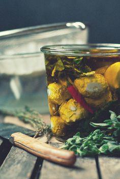 Marinated Lemon-Za'atar Labneh