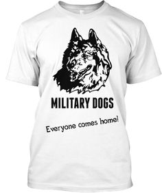 Military Dogs | Teespring