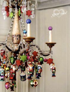 Ornament Chandelier!