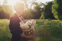 soft light + flowers