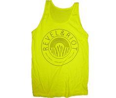 Neon Yellow Tank Top on Pinterest #1: fec a6a0d3549e262be31fe3a706