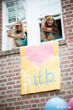 Love and ITB on bid day!