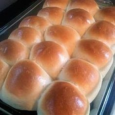 School Lunchroom Cafeteria Rolls ~ You can't mess these up! They are super easy and everyone will want the recipe! We eat the leftovers for breakfast or put cheese and turkey in warmed rolls for a quick lunch!