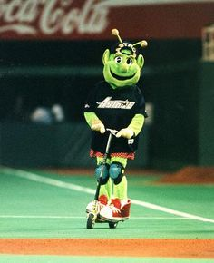 Orbit The Houston Astros old mascot