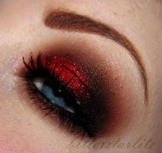 Great Valentines Day sultry look. Kinda like Chocolate Covered Cherries. :D