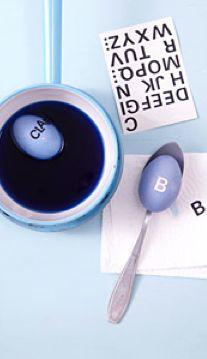 easter egg dying modern from living at home magazine denmark