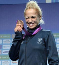 Rosalba Forciniti —Judo bronze #london2012