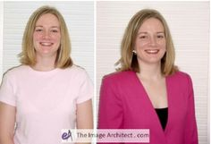 This is what happens if you match your superficial appearance! Blondes DON'T look good in baby pink!