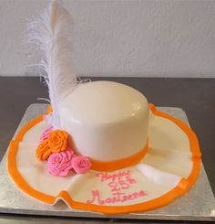 Derby Hat Cake by Splurge Bakery