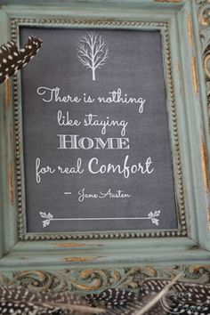 Home Quote by Jane Austen