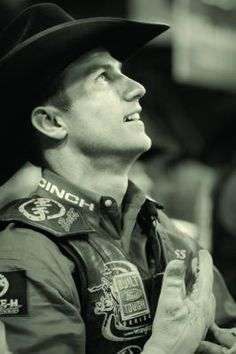 Justin McBride :)   2nd best bull rider ever <3   lane 1st of course