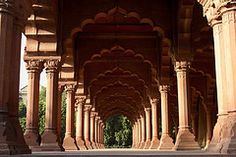 Inside the Red Fort, New Delhi, India