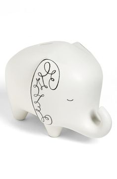 Count your pennies! kate spade new york elephant bank