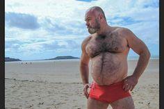 Balding. Beard. Belly. Basket. Perfect!
