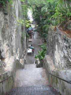 Nassau, Bahamas - queens staircase