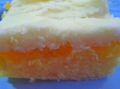 """Lemon Texas Cake - This is a very thin cake that is ready in no time at all. Originally published in a cookbook titled """"Specialties of Indianapolis, Volume 2""""...wonder why it is called Lemon Texas Cake instead of Lemon Indiana Cake? Regardless, it is a good lemon cake."""