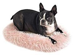 This Crochet Felted Bed is great for cats or dogs.