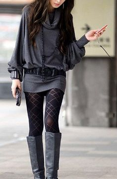 Love Patterned Tights