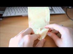 How to make toilet paper origami