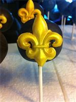 Whimsy Confections!!  New Orleans Saints Cake Pops!